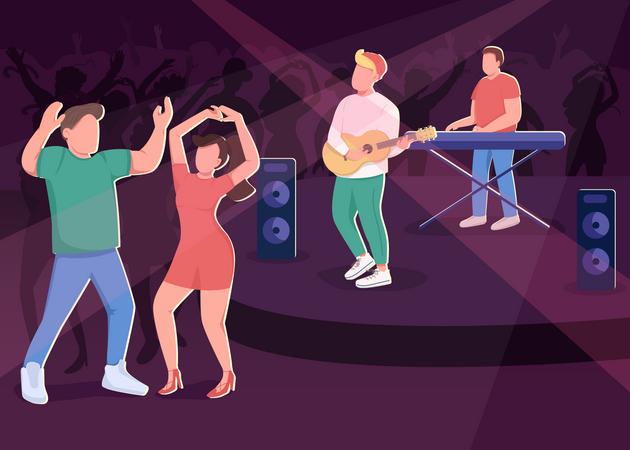 Nightclub Illustration