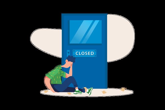 No entry Illustration