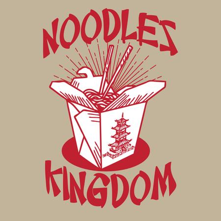 Noodles Kingdom Illustration