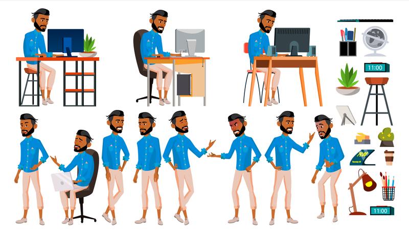 Office Culture Illustration