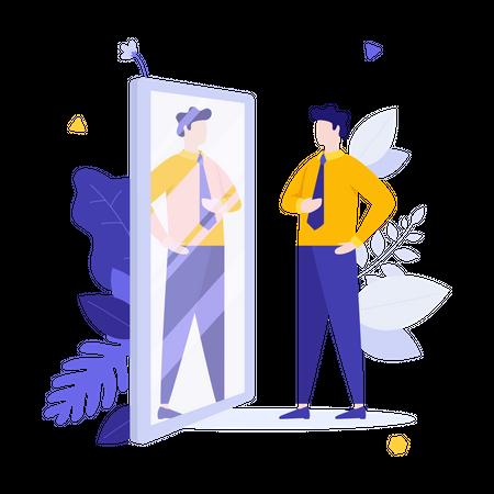 Office dress code Illustration