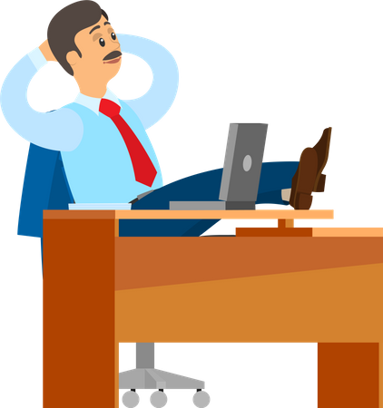 Office time Illustration