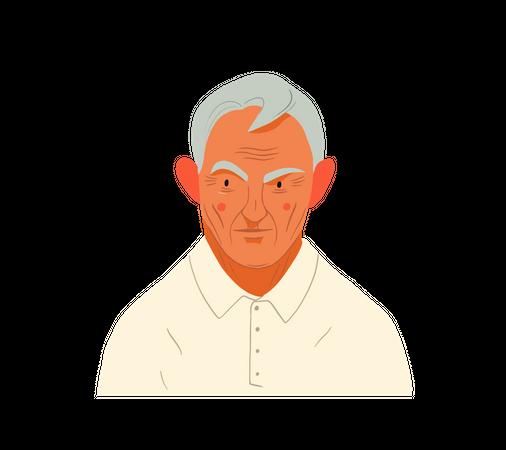 Old guy Illustration