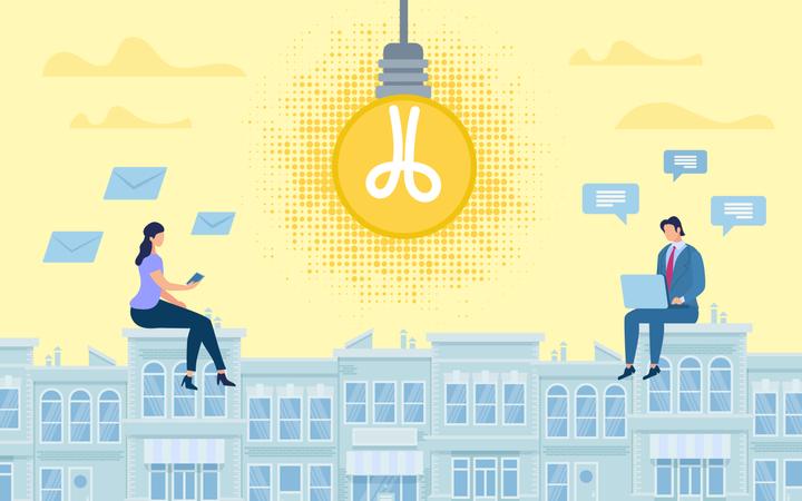 Online Collaborative Idea Illustration
