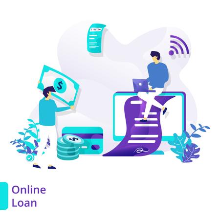 Online Loan Illustration