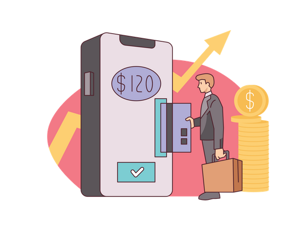 Order payment Illustration