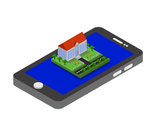 Online Property Illustration