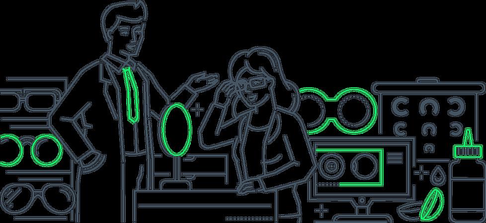 Optics Illustration
