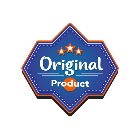 Original product tag Illustration