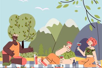 Vacation Illustration Pack
