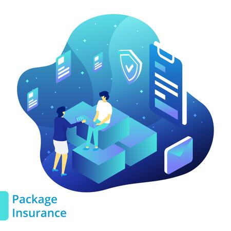 Package Insurance Illustration