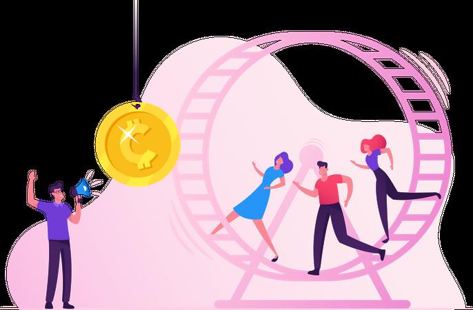 Paid Marketing Illustration