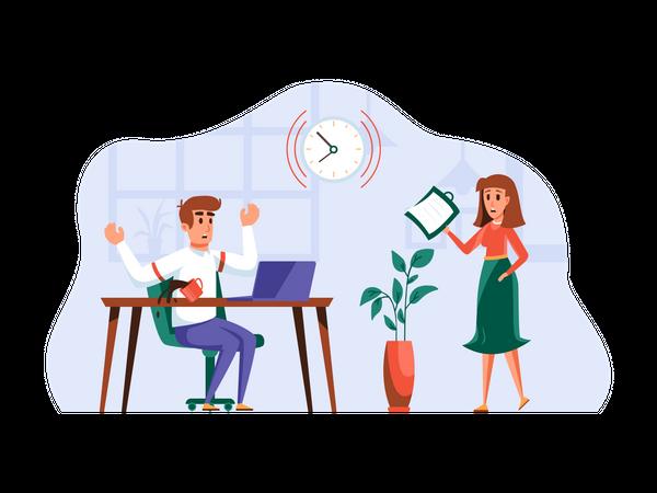 Paperload Management Illustration