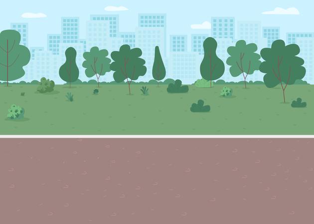 Park way Illustration