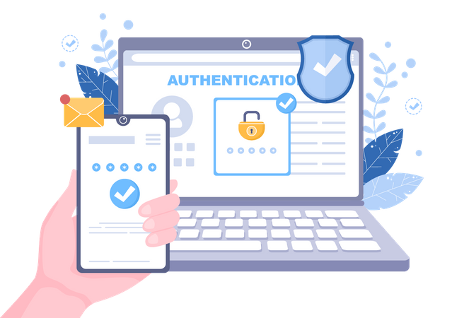 Password Security Illustration