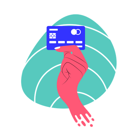 Payment by Card Illustration