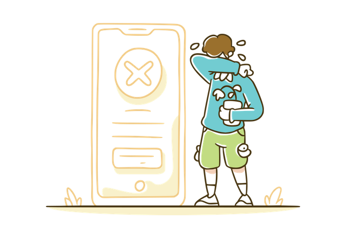 Payment declined Illustration