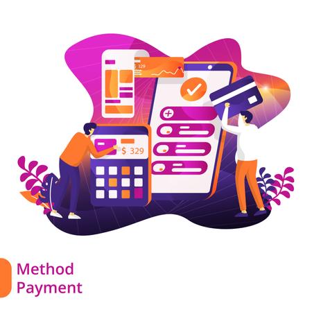 Payment method Illustration
