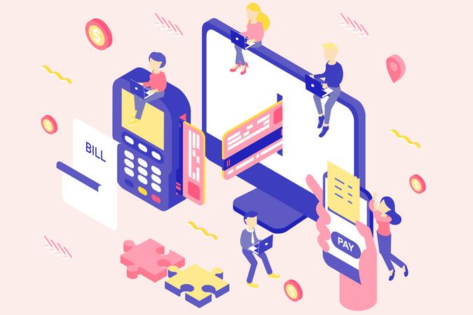 Payment Options Illustration