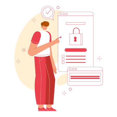Payment security Illustration