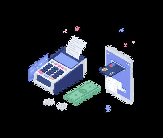 Payment system Illustration
