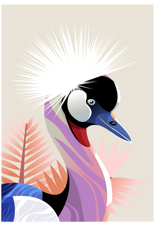 Peafowl Illustration
