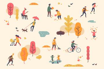 Autumn Illustration Pack