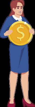 Personal earnings Illustration