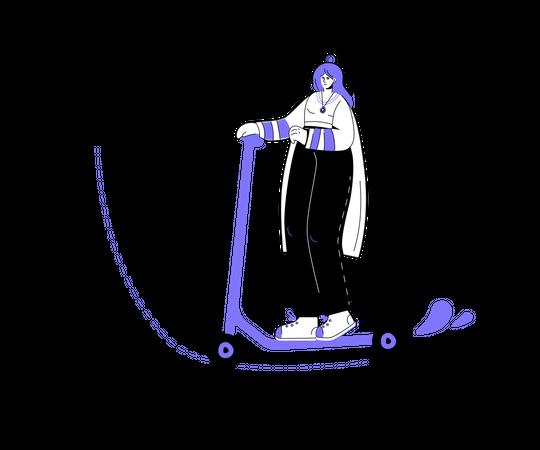 Personal goal Illustration