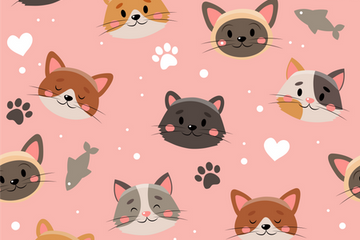 Pet Pattern Illustration Pack
