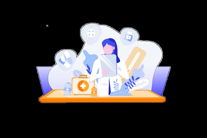 Pharmacy Illustration