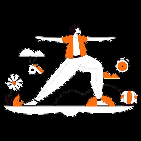 Physical Education Illustration