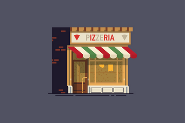 Local Shop Illustration Pack