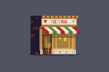 Local Shop Illustration Pack