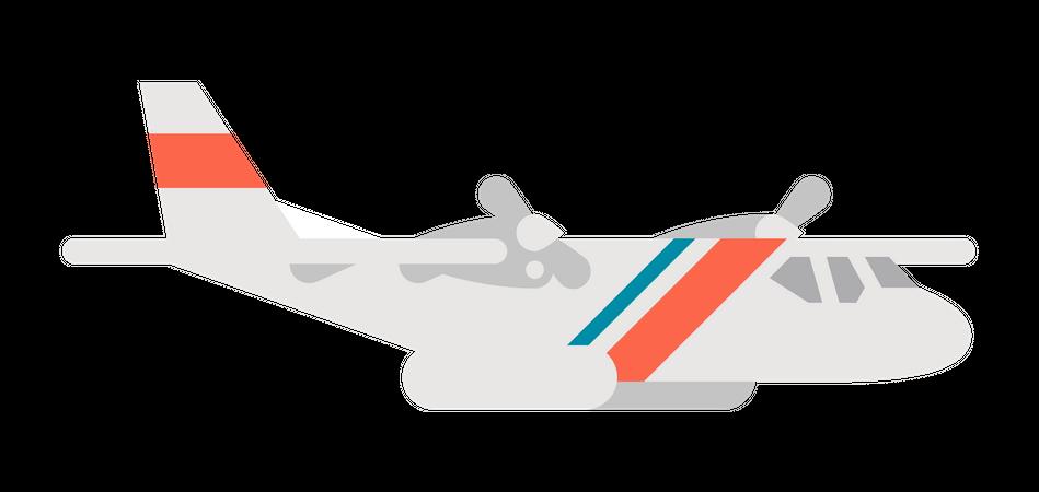 Plane Illustration