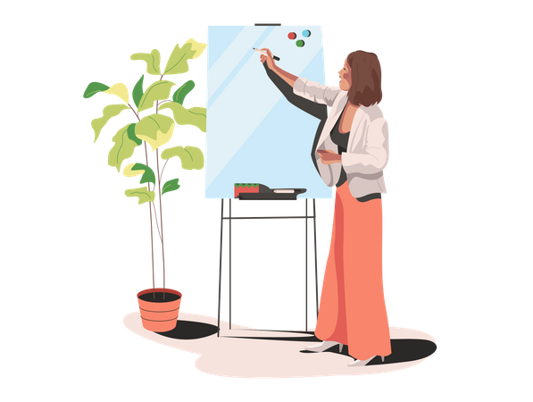 Planner Illustration