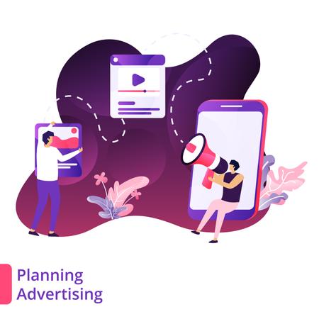 Planning Advertising Illustration