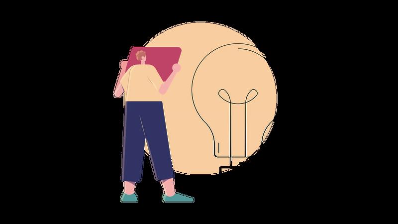 Planning an Idea Illustration