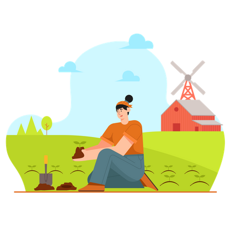 Planting Illustration