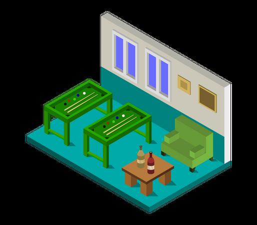 Play area Illustration