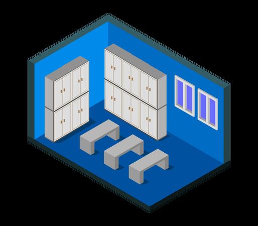 Player Room Illustration