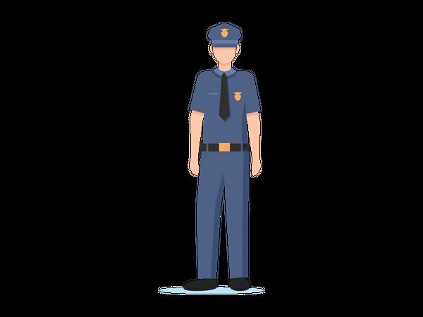Police man Illustration