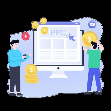 Ppc Campaign Illustration