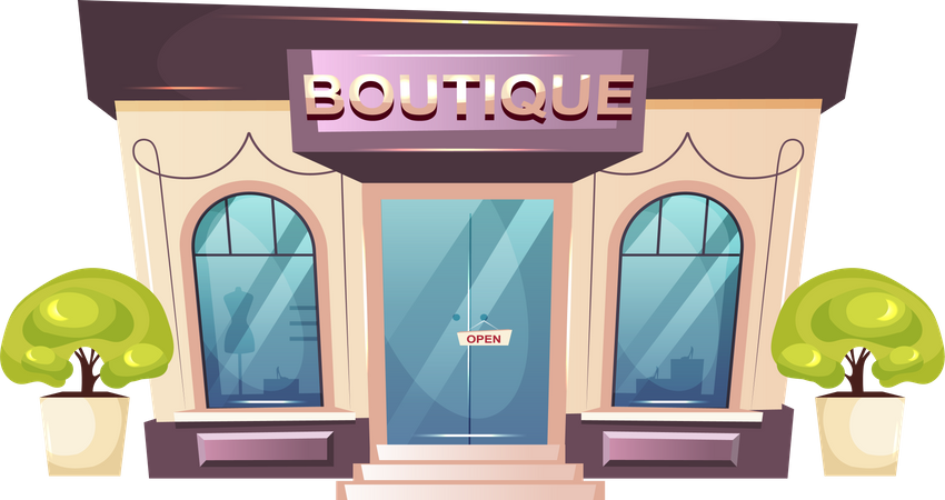 Premium boutique Illustration