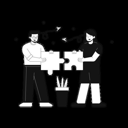 Problem solution Illustration