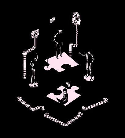 Problem solving Illustration