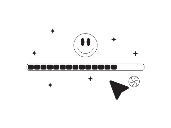 Process Completion Status Illustration