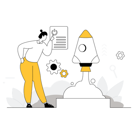 Product Development Marketing Illustration