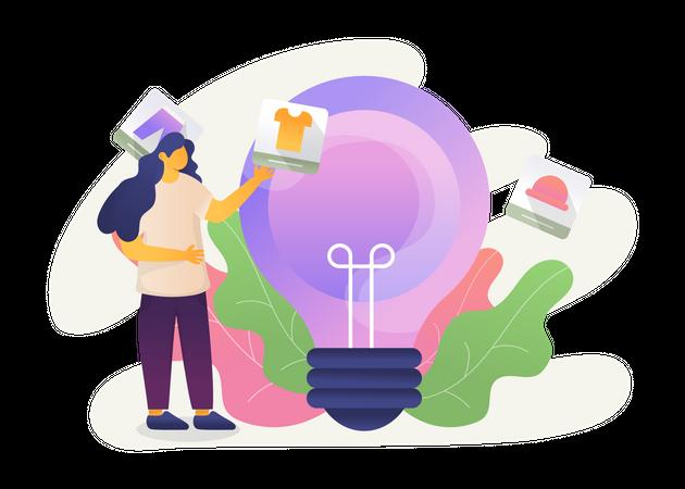 Product Idea Illustration