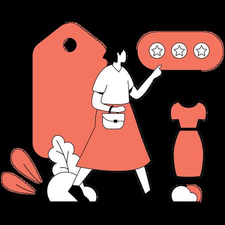 Product Rating Illustration
